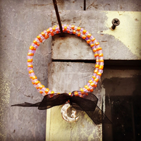 Bracelet : Chat d'Halloween