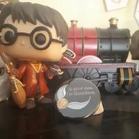 Badge : Je peux pas, j'ai Quidditch