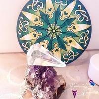 Pendule : Cristal de Roche