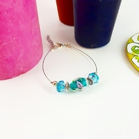 Bracelet : Un rêve en bleu