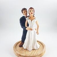 Figurine pour mariage (création sur mesure)