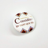 Badge : Qu'on me considère en tant que tel.