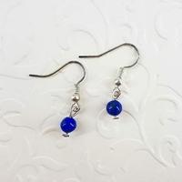 Boucles d'oreilles : Lapis Lazuli