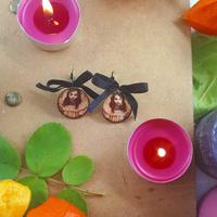 Boucles d'oreilles : Fillette Halloween