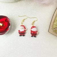 Boucles d'oreilles : Père Noel