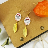 Boucles D'oreilles : All you need is Love