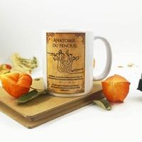 Mug : Anatomie du fenouil
