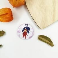 Badge : Ladybug Chibi