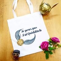 Tote-Bag : Je peux pas, j'ai Quidditch