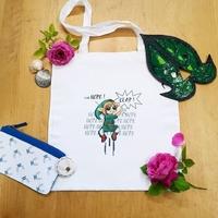 Tote-Bag : Link et sa fée