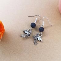 Boucles d'oreilles : dracarys