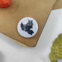 Badge holographique : Chauve-souris