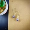 Boucles d'oreilles : rêve d'Améthyste