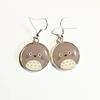 Boucles d'oreilles : Totoro