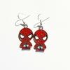 Boucles d'oreilles : Spiderman