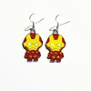 Boucles d'oreilles : Ironman