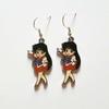 Boucles d'oreilles : Sailor Mars