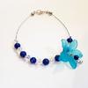 Bracelet : Eryl (Lapis Lazuli et cristaux de Swarovski)