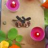 Boucles d'oreilles : Squelette d'Halloween