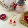 Boucles d'oreilles : Lutin de Noel