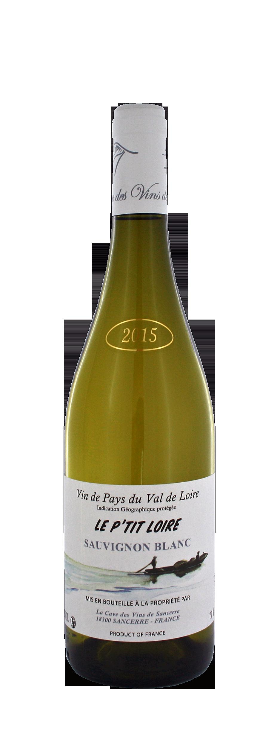 Vin de Pays Sauvignon 2015 - Le P\'tit Loire