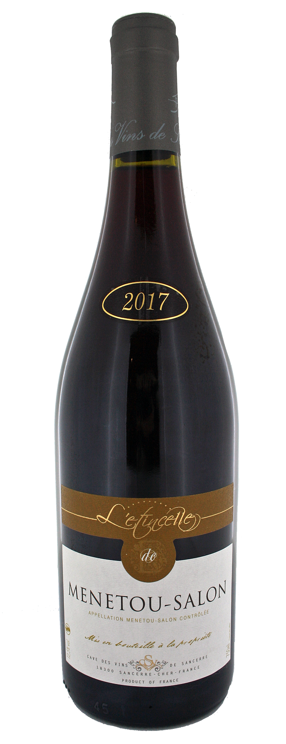 47. ETINCELLE MENETOU SALON 75cl - ROUGE 2017
