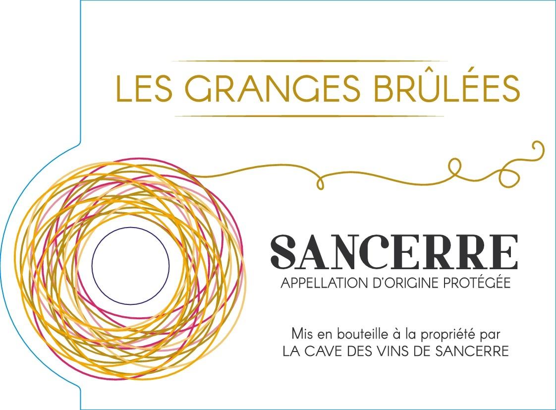 Sancerre Blanc AOC 2017- Les Granges Brûlées