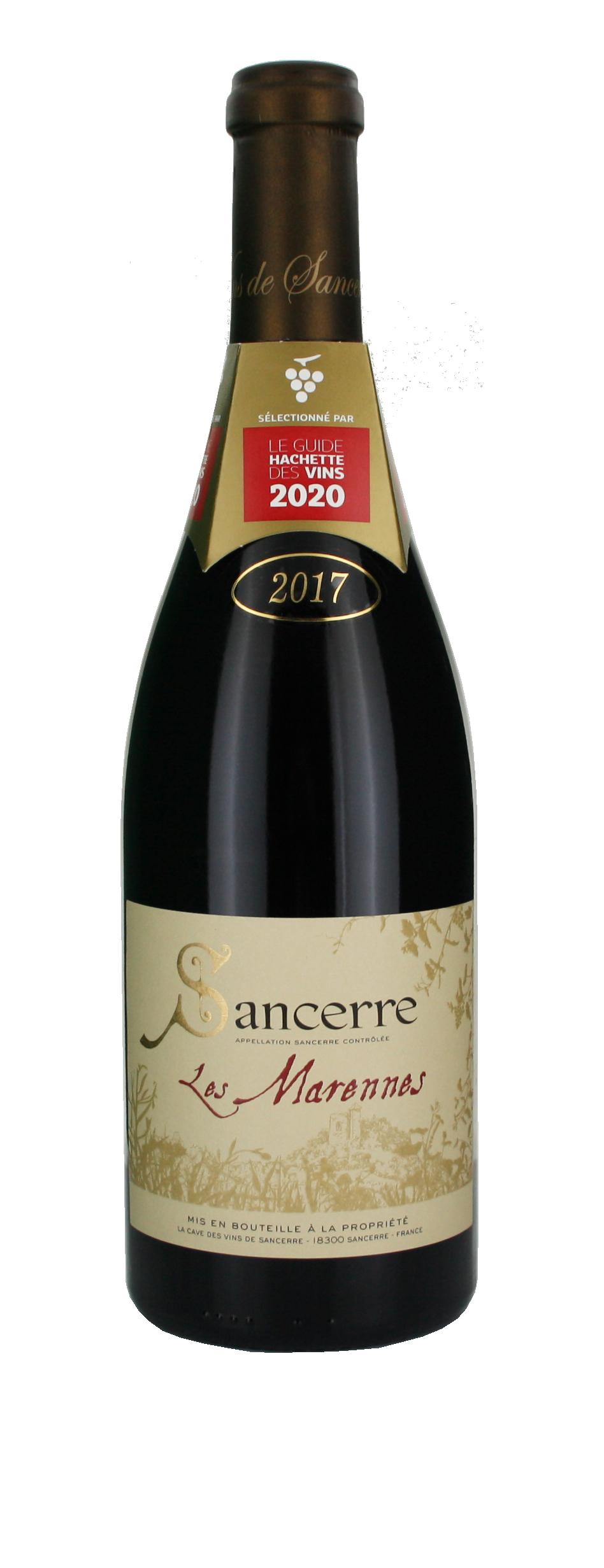 Sancerre Rouge AOC 2017 - Les Marennes