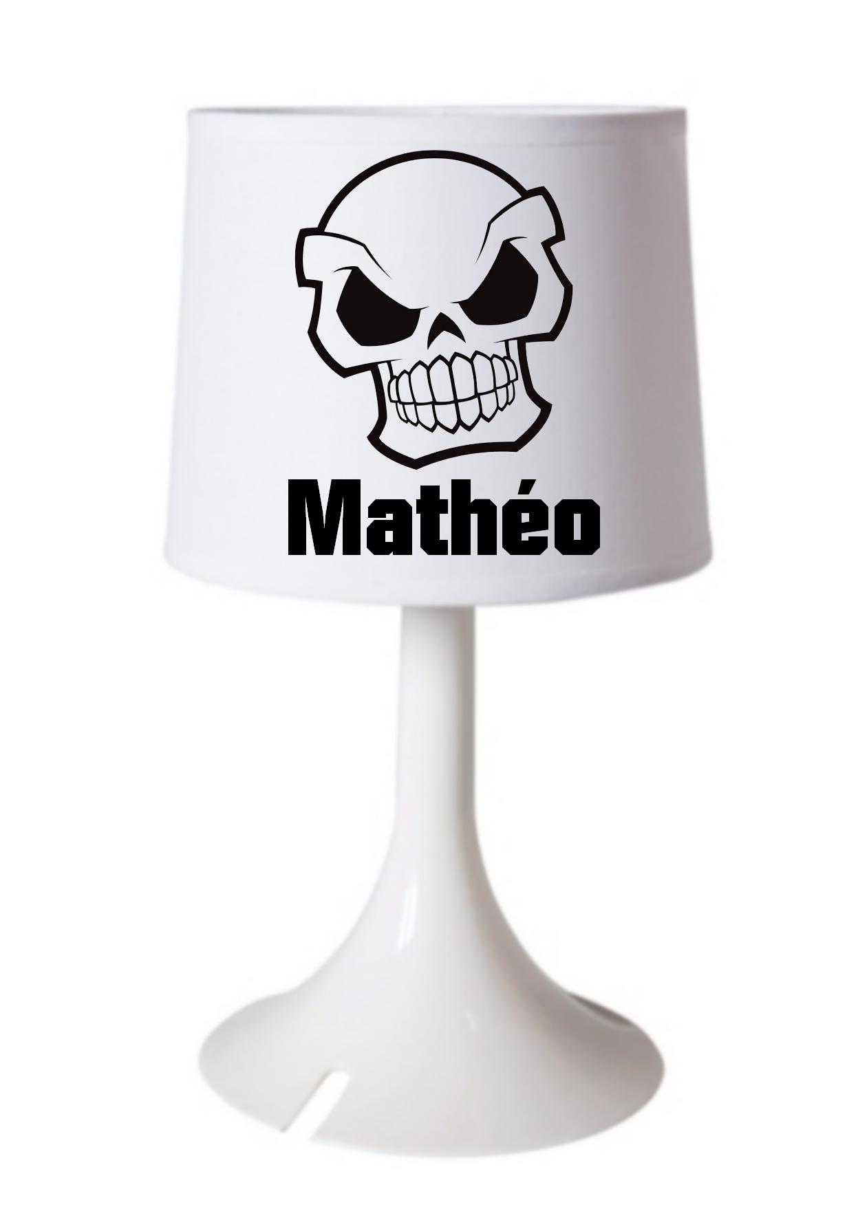Bureau Prénom Chevet Tête Lampe Mort De Personnalisée Ou Avec XPkiOZu