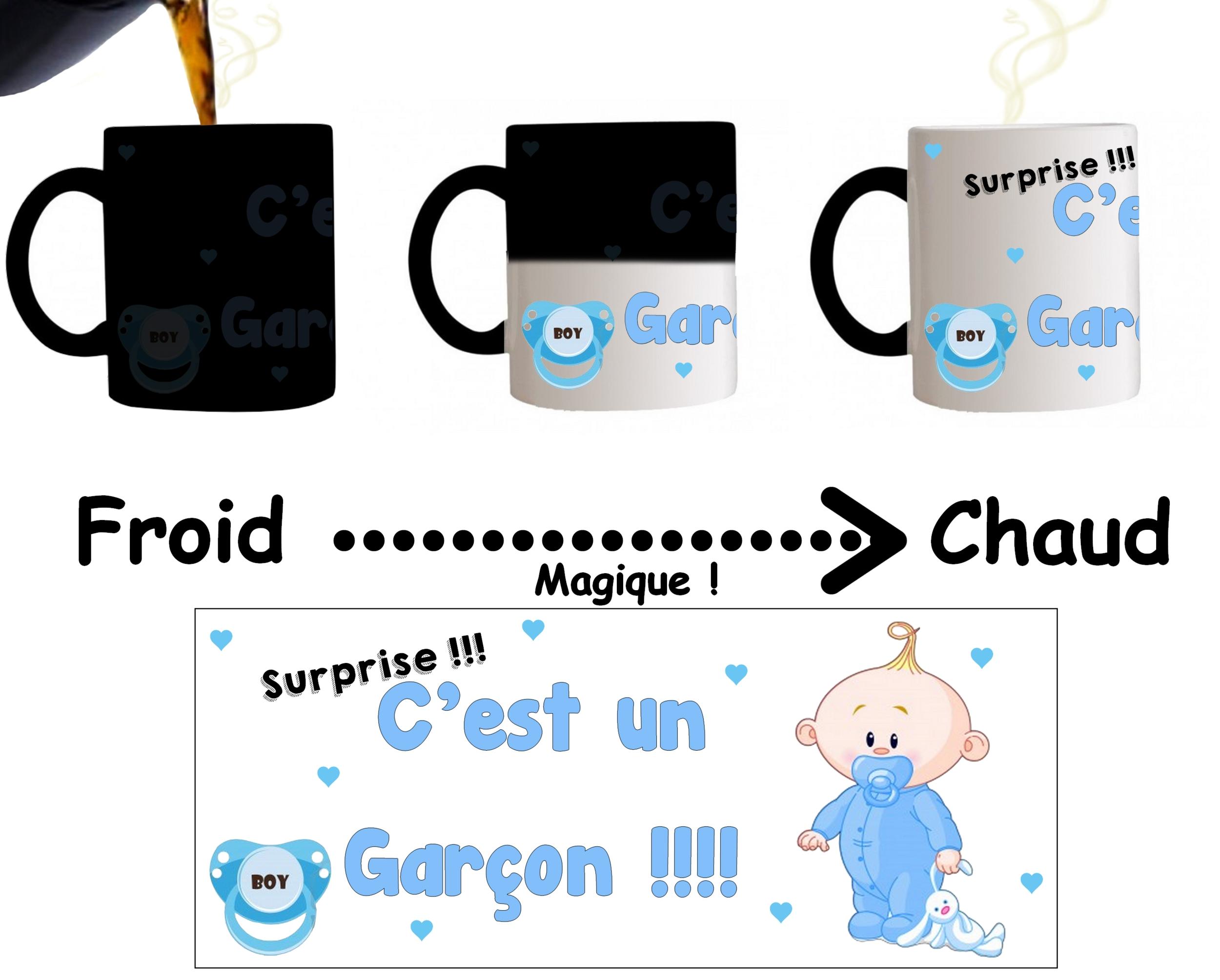 Un Surprise Magique Mug C'est Garçon Tasse FJKc1l