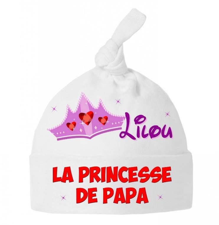 Bonnet Pour Bébé Personnalisé Avec Thème Et Prénom Au Choix