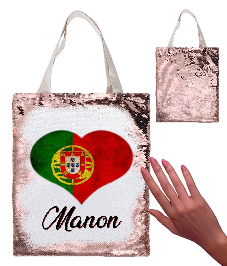 Sac à dos portugal personnalisé avec prénom