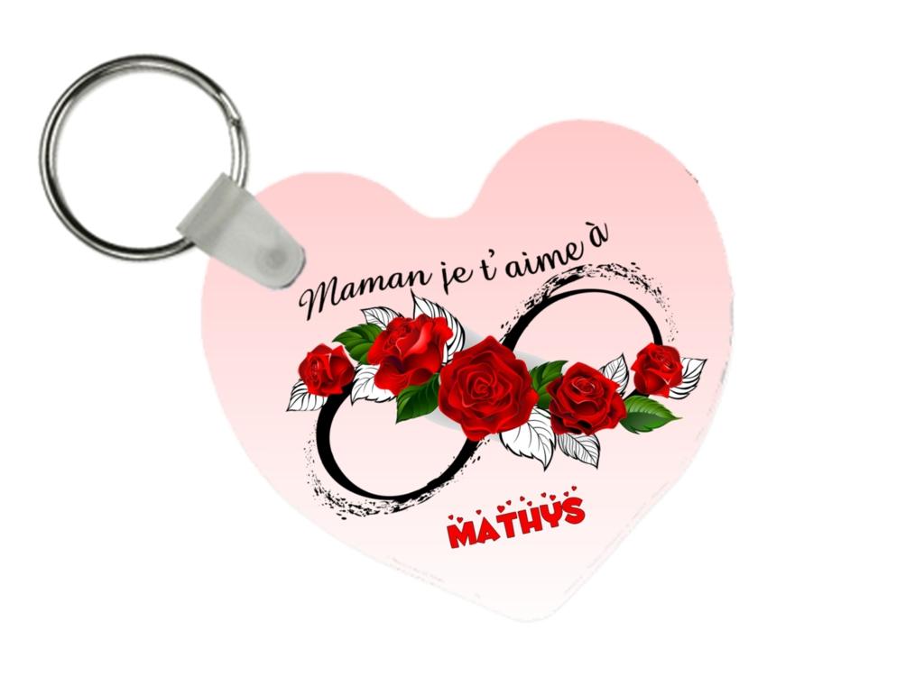 porte clés personnalisé maman