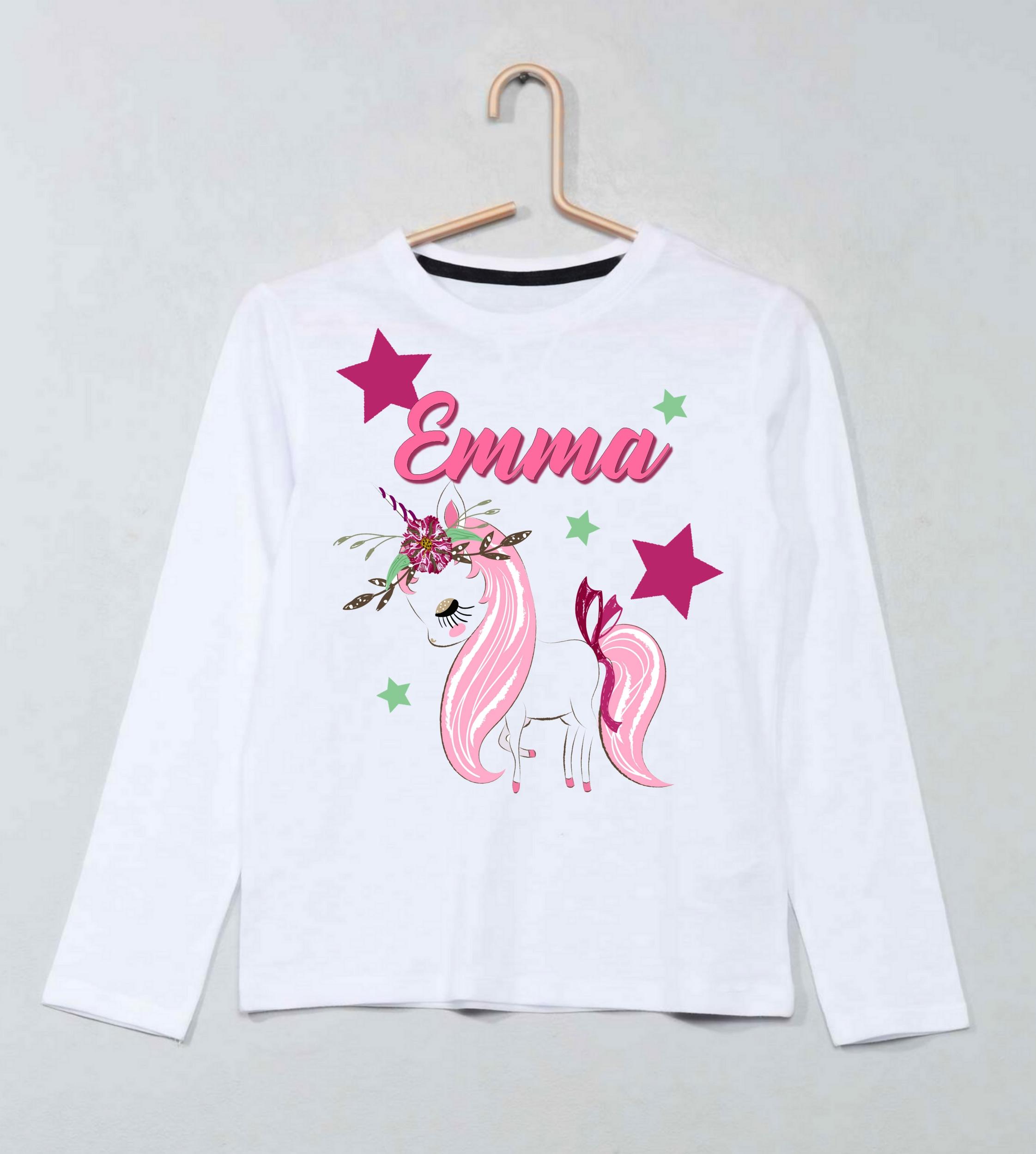 Dinosaures sublimation t-shirt pour enfant Personnalisé-Cadeau pour tout enfant /& nommé