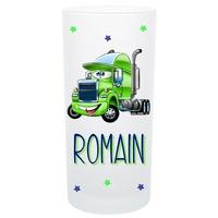 Verre Camion rigolo personnalisé avec prénom