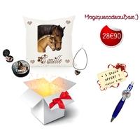 Box cadeau Cheval personnalisé avec prénom