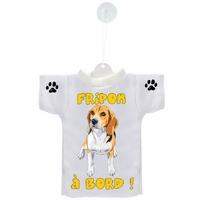 Mini tee shirt voiture Chien à Bord Beagle personnalisé