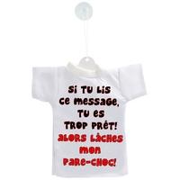 Mini tee shirt voiture Humour Lâches mon pare choc...