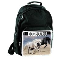 Sac à dos Cheval chevaux personnalisé avec prénom