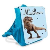 Sac à dos Cartable enfant Dinosaure personnalisé avec prenom