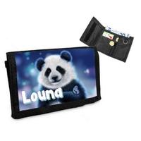 Portefeuille Adorable Panda personnalisé avec prénom