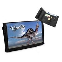Portefeuille Dinosaure personnalisé avec prénom