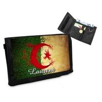 Portefeuille Algérie personnalisé avec prénom