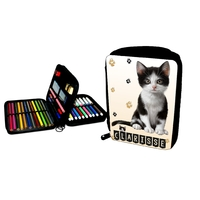 Trousse garnie Chat Chaton Cat personnalisée avec prénom