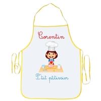 Tablier enfant P'tit pâtissier personnalisé avec prénom