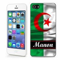 Coque iphone 4/4S, 5/5S, 6, 7, 8, X, XS, XR ou SE Algérie personnalisée avec prénom