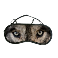 Masque de sommeil ou de nuit Loup