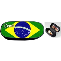Trousse à crayons Brésil personnalisée avec prénom