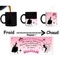 Mug tasse magique Maman Princesse Contes de fées