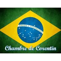 Plaque de porte en aluminium Brésil personnalisée avec texte au choix